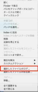 selected-file-log